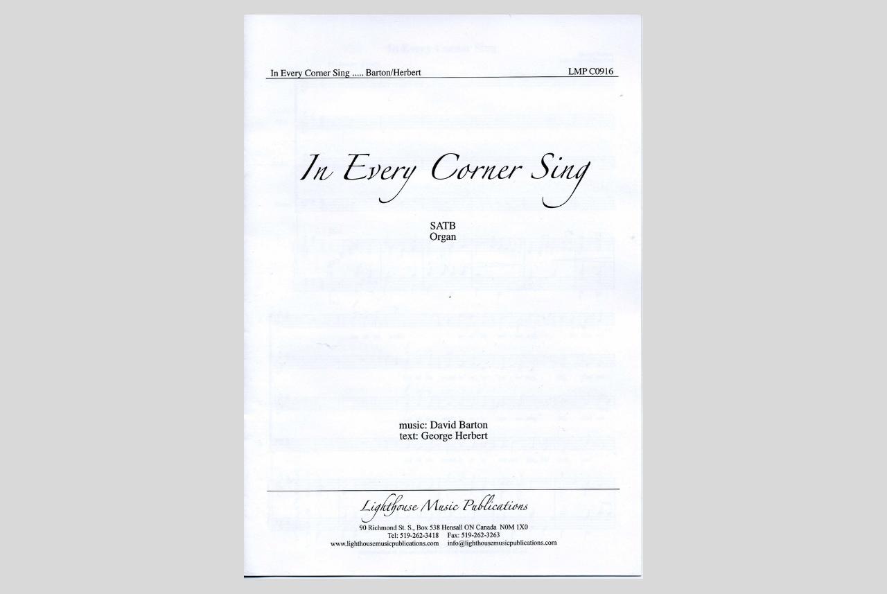 In Every Corner Sing