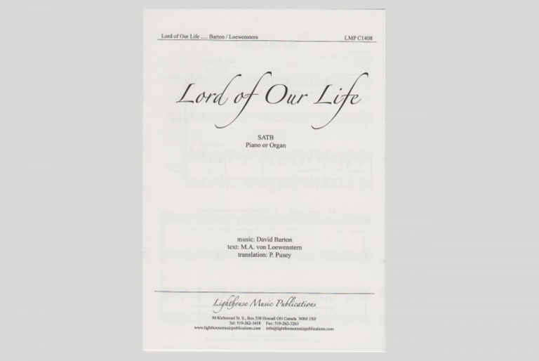 Lord of Our Life