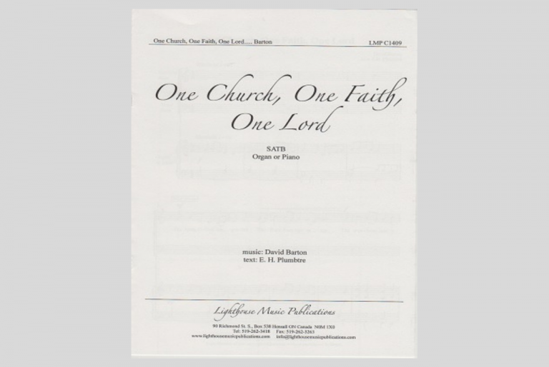 One Church, One Faith, One Lord