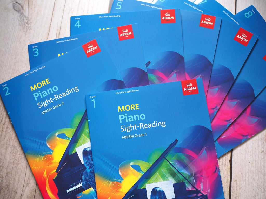 Review: ABRSM More Piano Sight-Reading, Grades 1-8