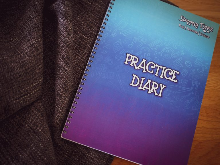 Review: Stepping Tones Practice Diary