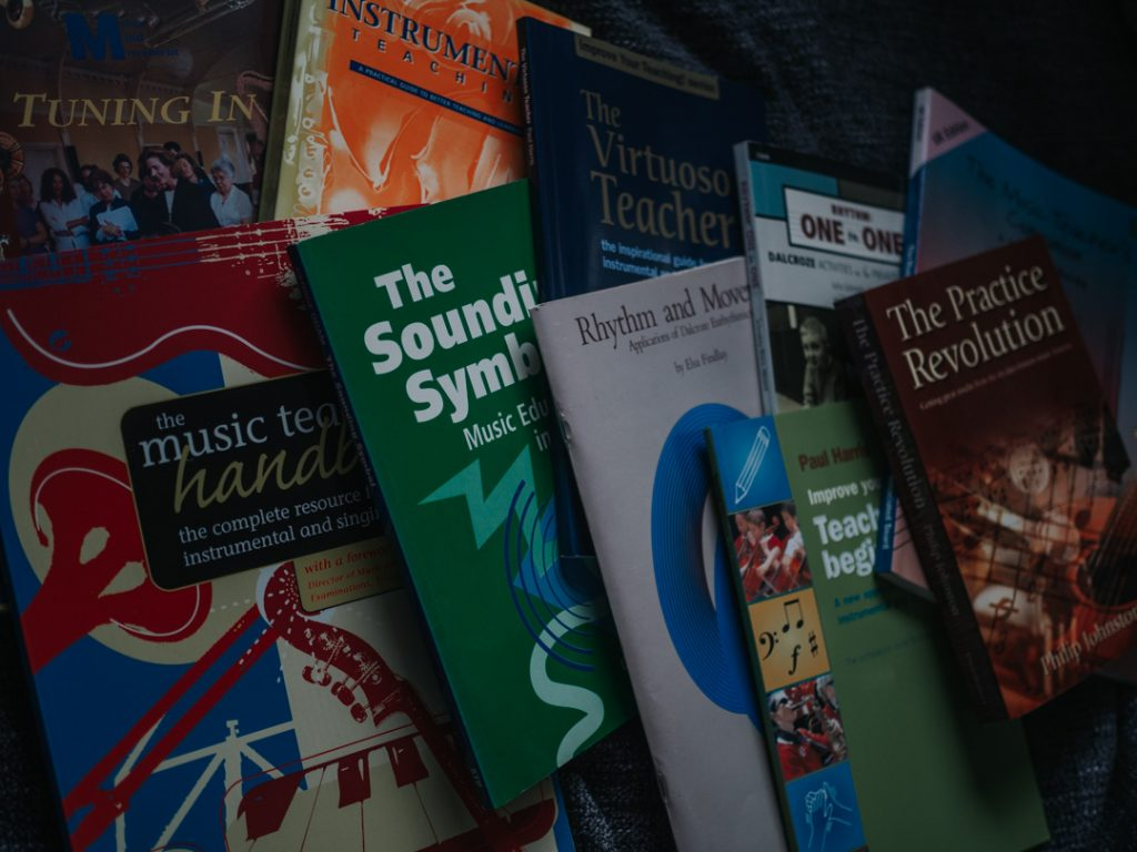 My Top 10 Books for Instrumental Teachers