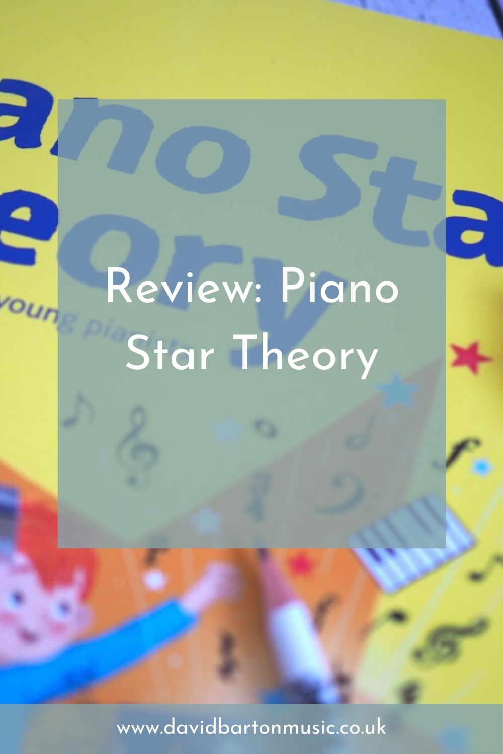Review: Piano Star Theory - Pinterest Graphic