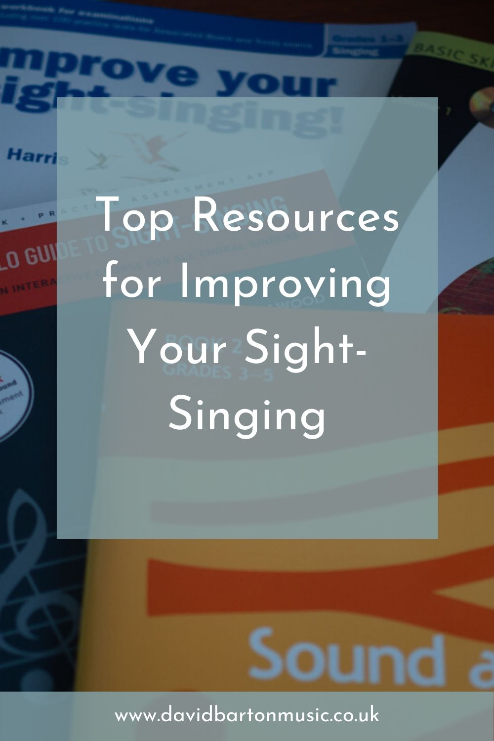 Top Resources for Improving Your Sight-Singing - Pinterest Graphic