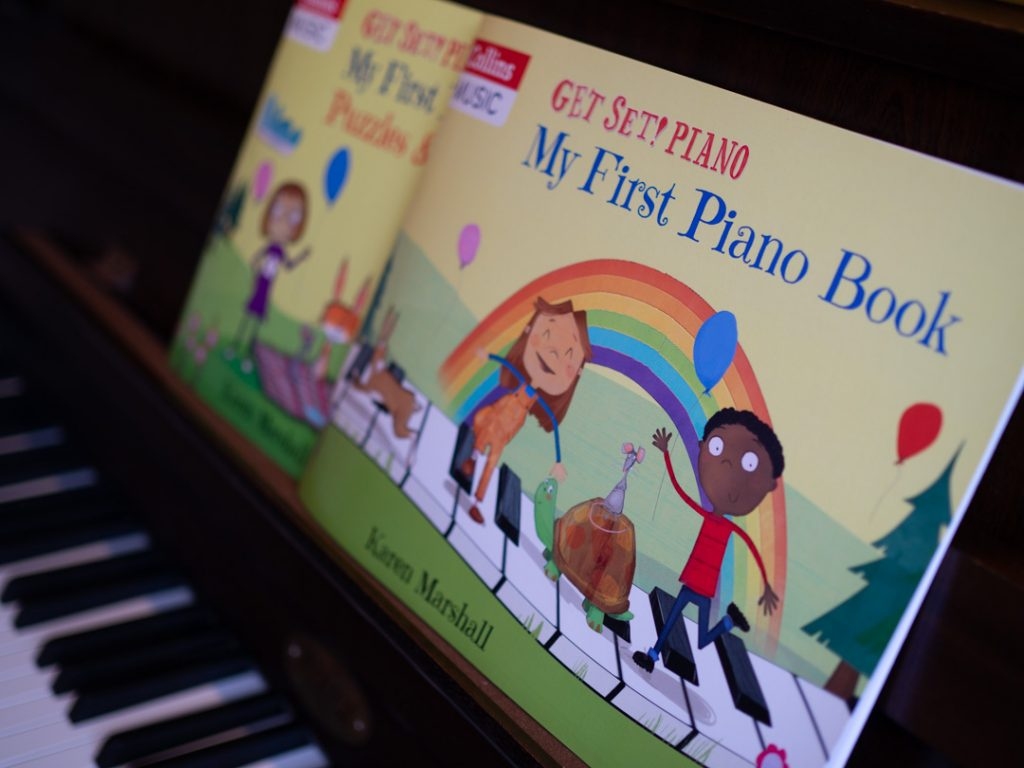 Review: Get Set! Piano – My First Piano Book