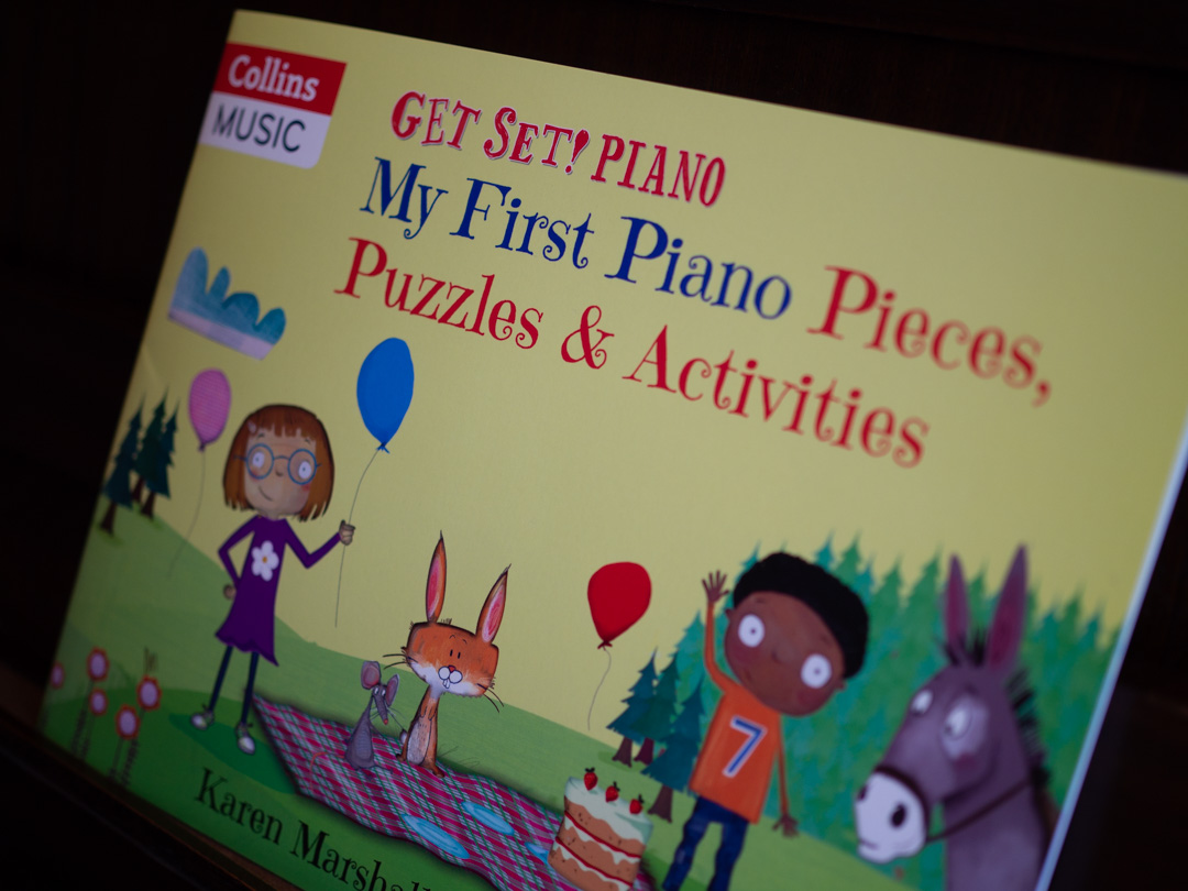My First Piano Pieces, Puzzles & Activities