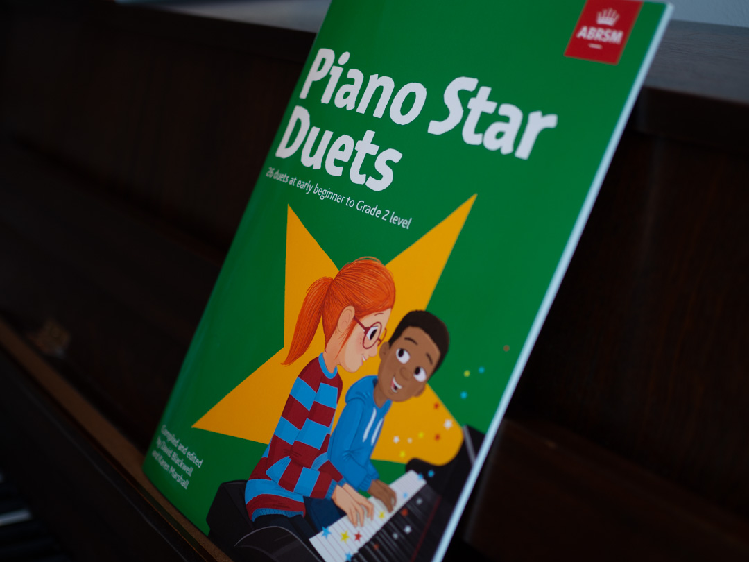 Piano Star Duets book