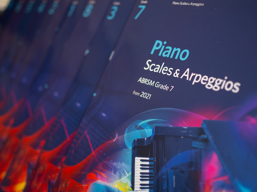Piano Scales and Arpeggios books from 2021