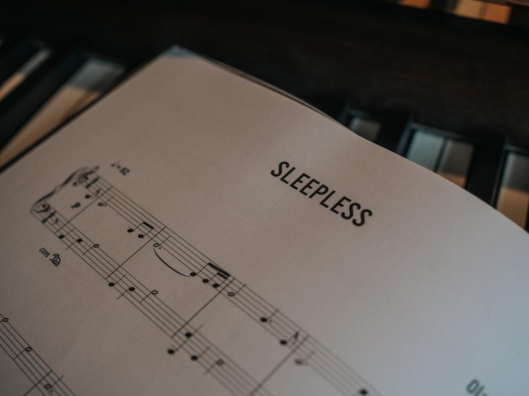 Sleepless for Solo Piano by Ola Gjeilo