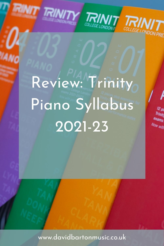 Trinity Piano Syllabus 2021-23 - Pinterest Graphic