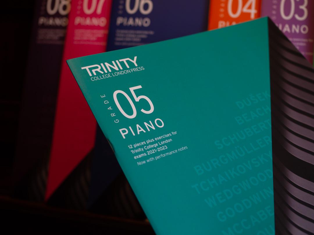 Trinity Piano Syllabus 2021-23 - Grade 5 Book