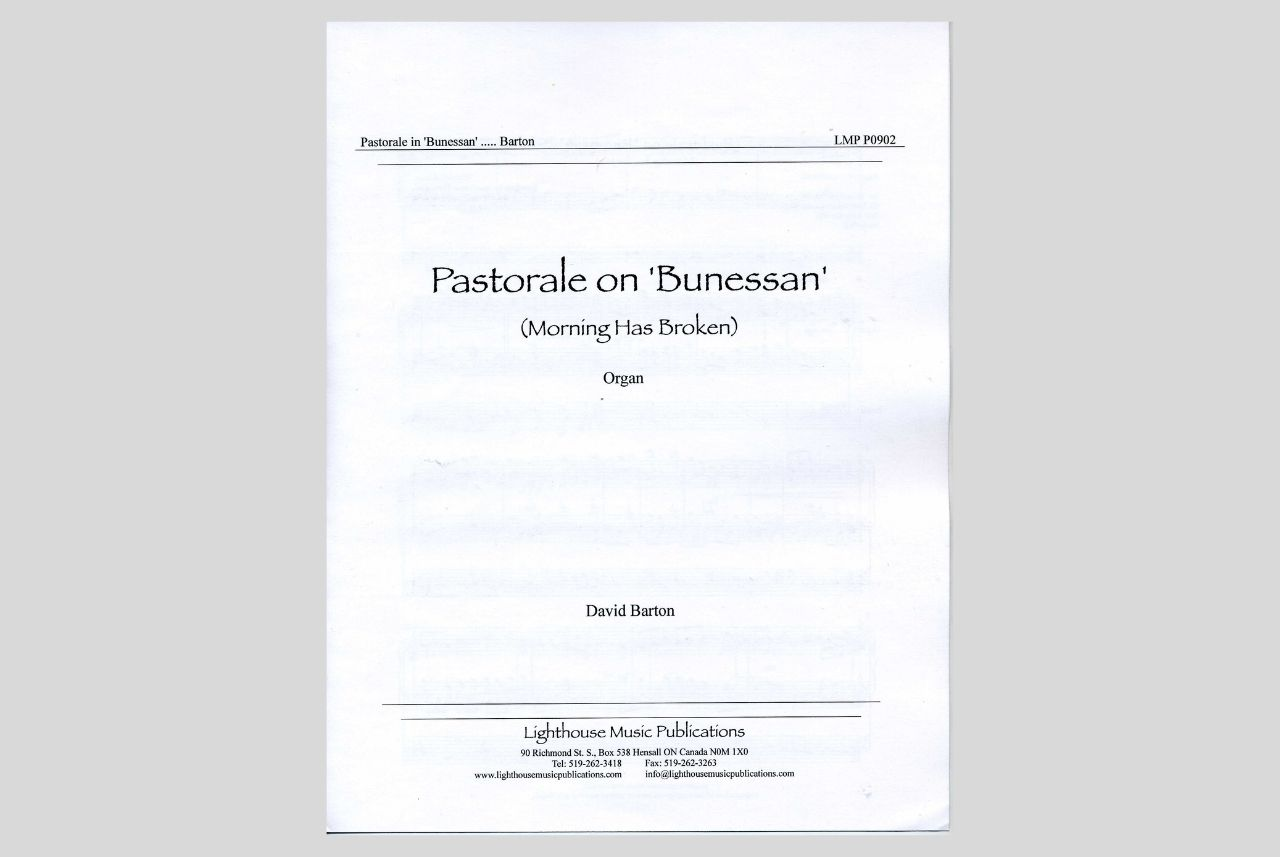 Pastorale on 'Bunessan'