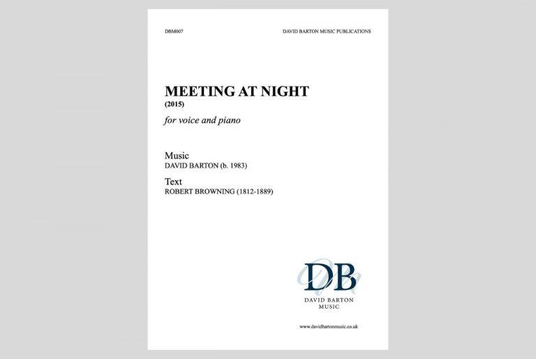 Meeting at Night