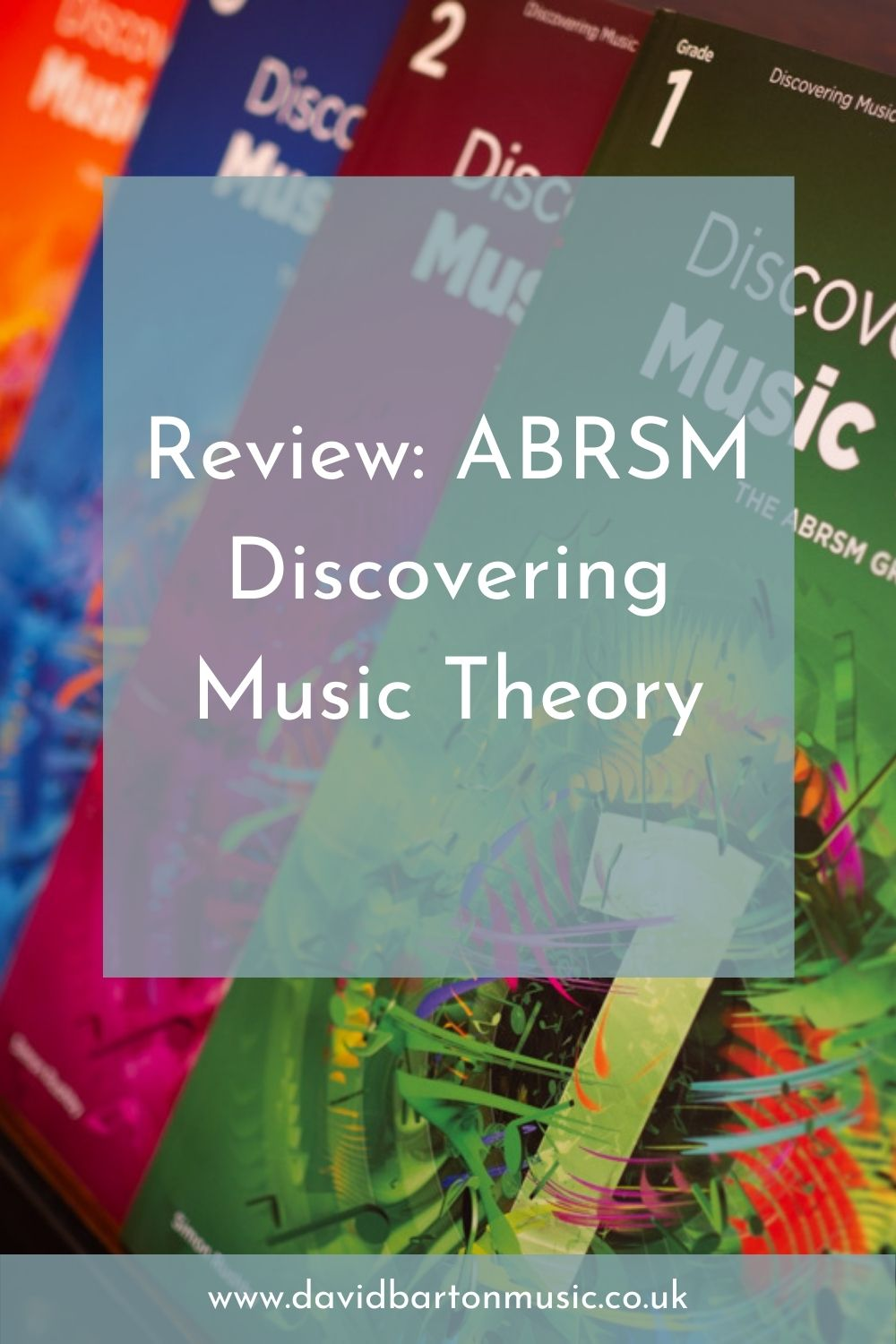 Review: ABRSM Discovering Music Theory - Pinterest Graphic