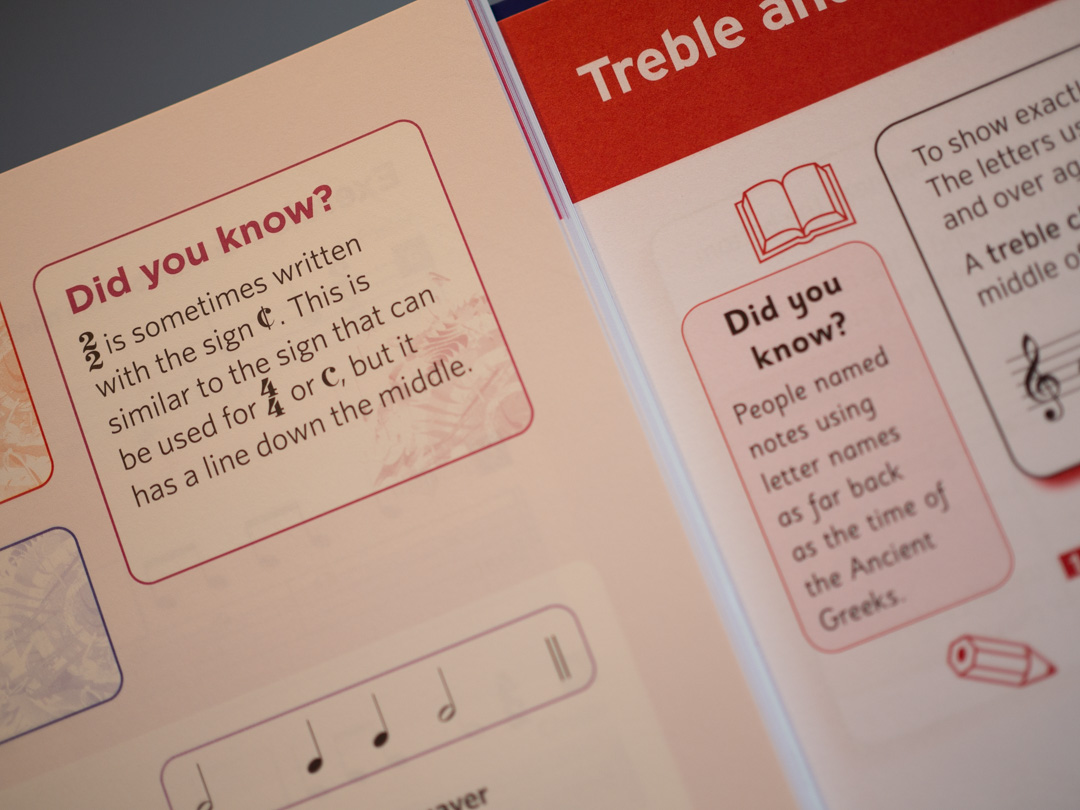 Comparison of Trinity and ABRSM Theory workbooks