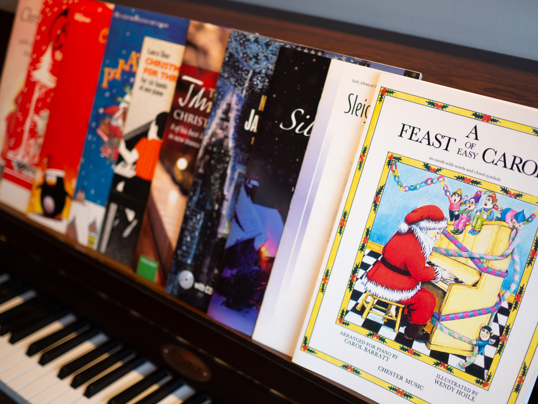 My Top 10 Christmas Books for Piano