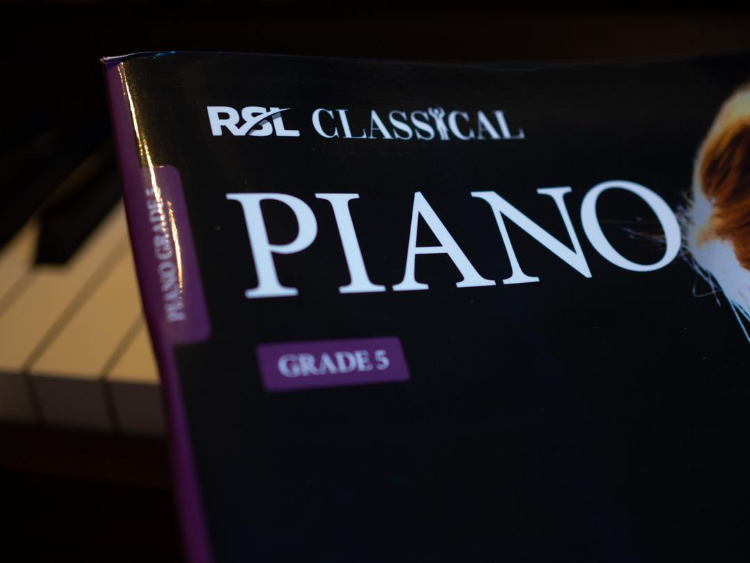 RSL Classical Piano Grade 5