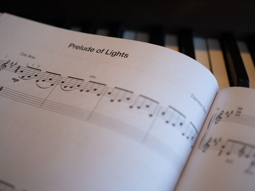 Prelude of Lights for Solo Piano by Darren Day