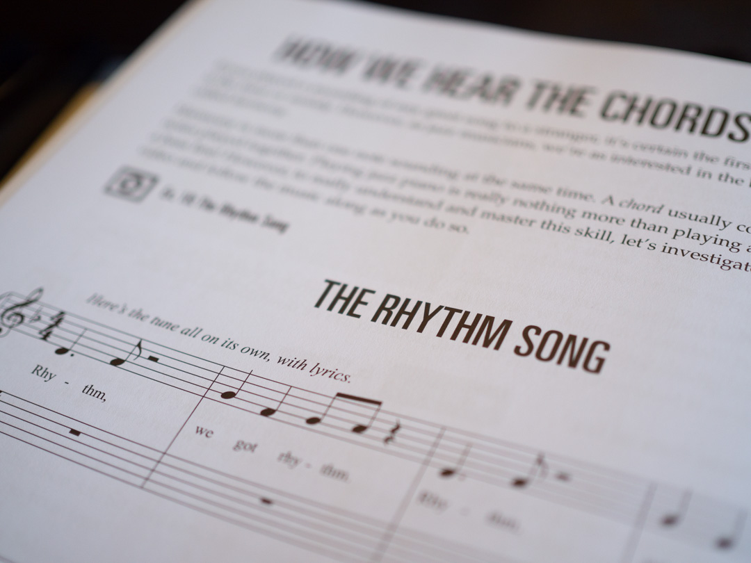 The Rhythm Song for jazz piano by Richard Michael