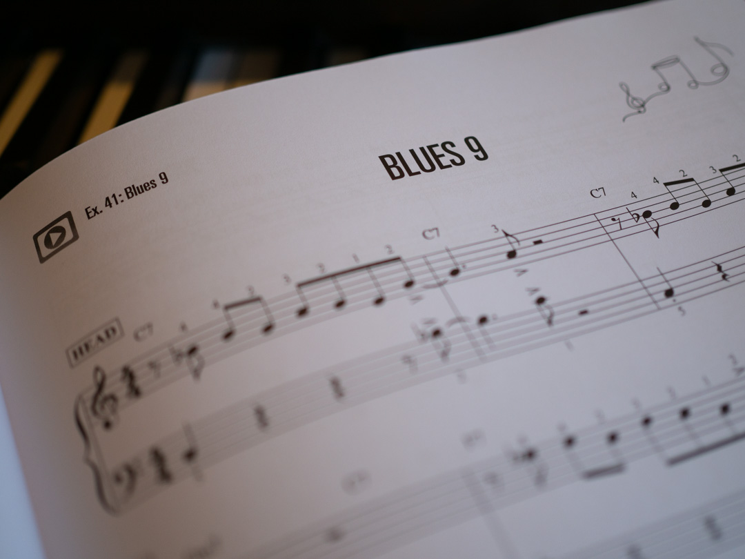 Blues 9 in Jazz Piano for Kids