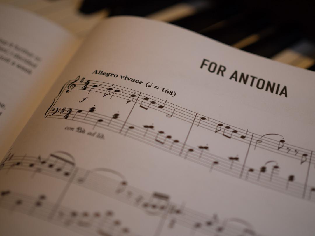 For Antonia by Alma Deutscher