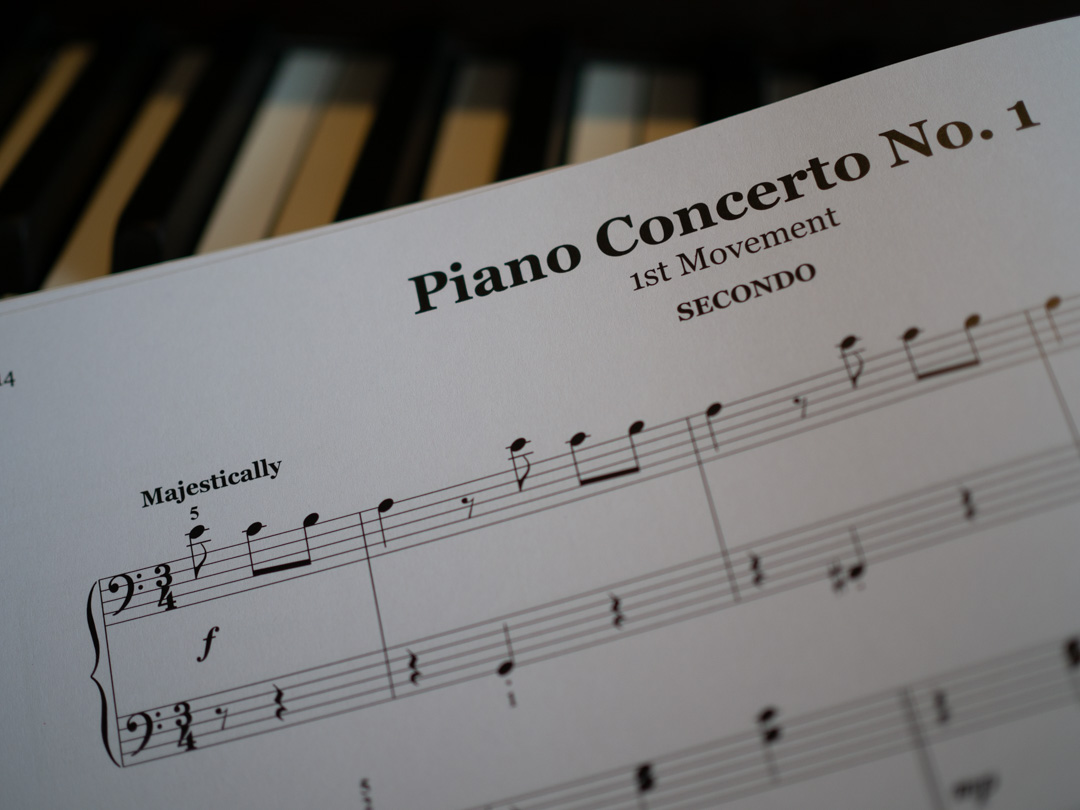 Piano Concerto No. 1 from John Thompson's First Classical Duets