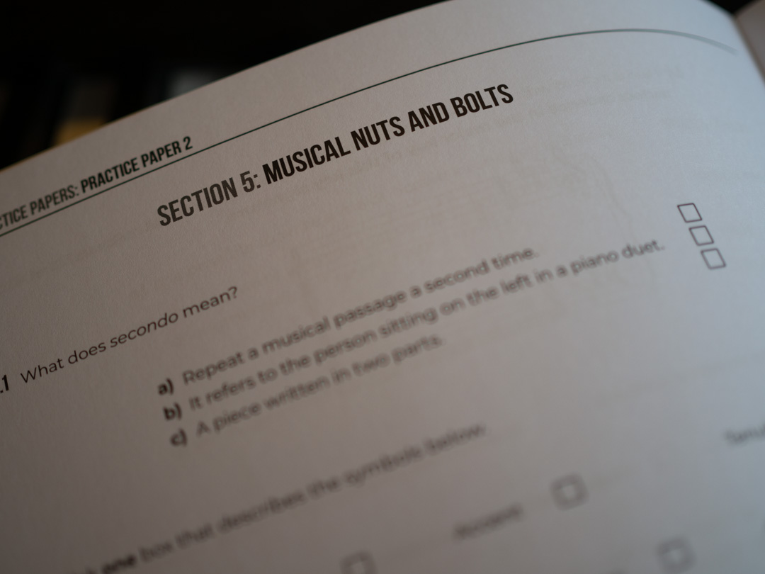 Section 5: Musical Nuts and Bolts