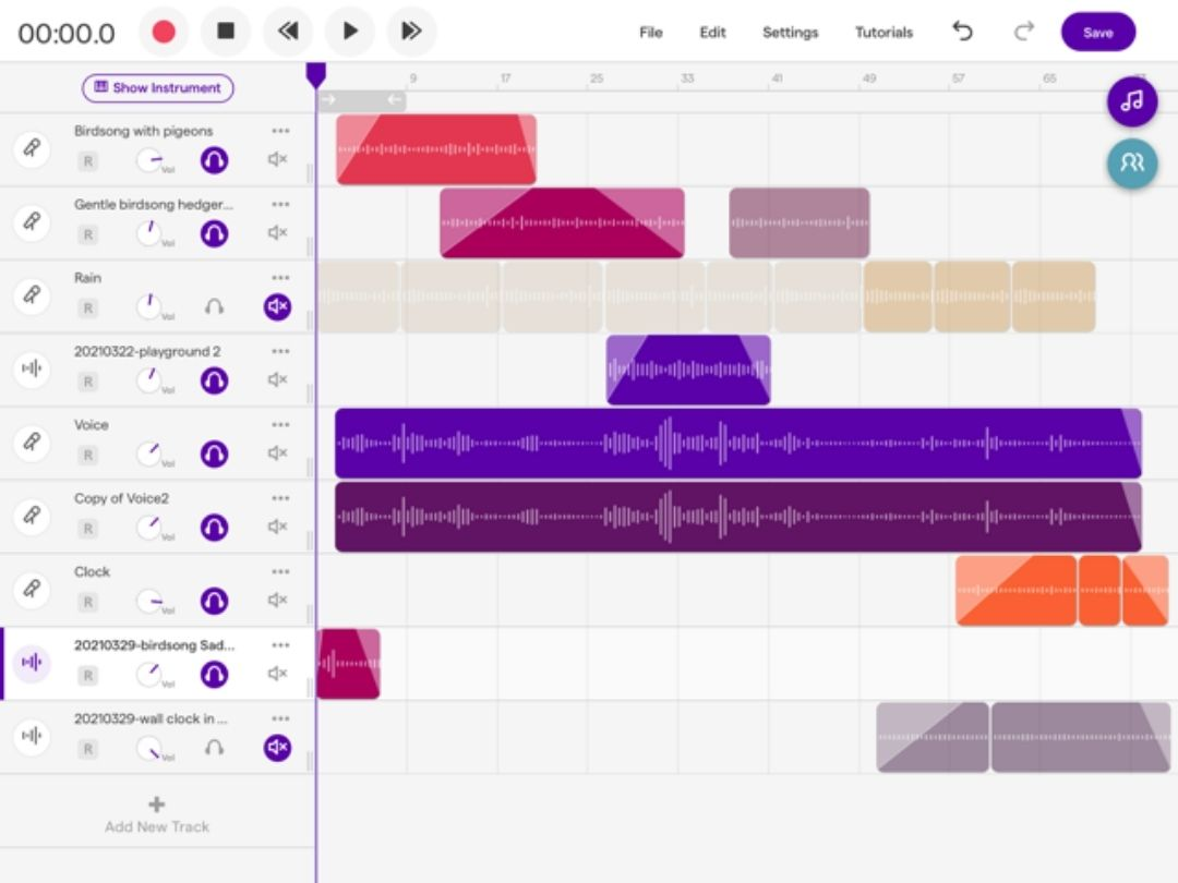Using Soundtrap to create a Soundscape