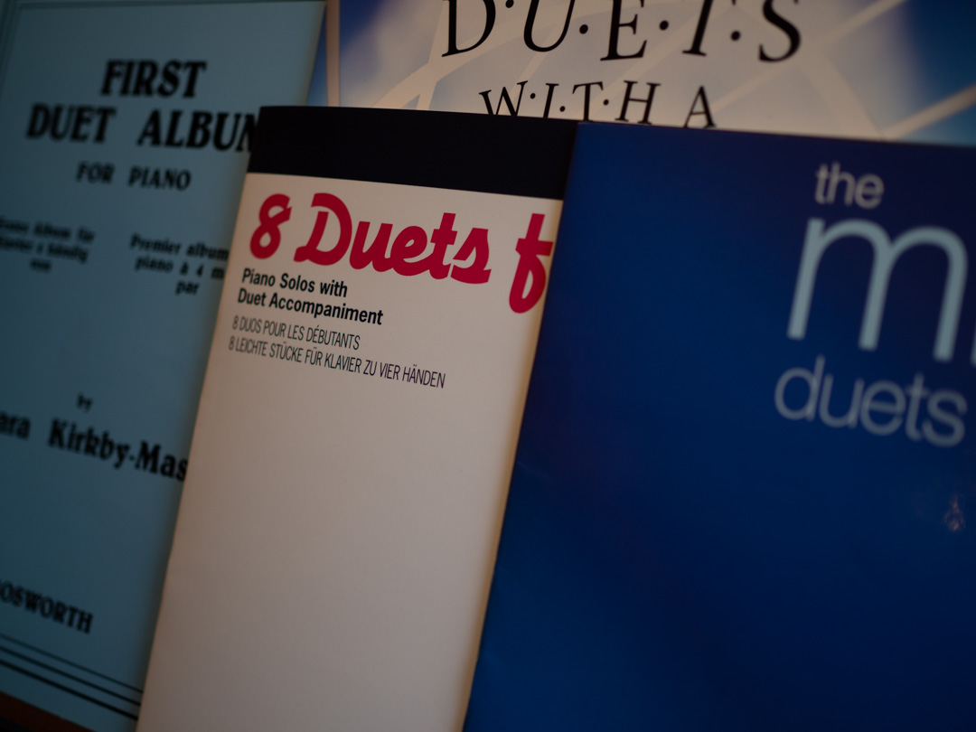 Piano duet books for beginners